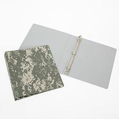 "3-Ring Camouflage Binder - 1"" Capacity - Camouflage"