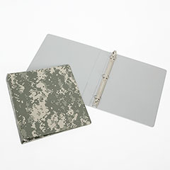 "3-Ring Camouflage Binder - 1-1/2"" Capacity - Camouflage"