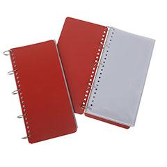 Long Format Check List Binder - Binder - Red