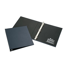 """Recyclable D-Ring Binder - 1"""" Capacity - Blue"""
