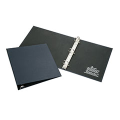 """Recyclable D-Ring Binder - 1-1/2"""" Capacity - Blue"""