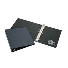 """Recyclable D-Ring Binder - 2"""" Capacity - Blue"""