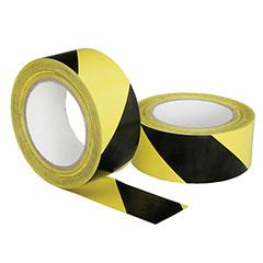 Floor Safety Tape - Yellow/Black Stripe