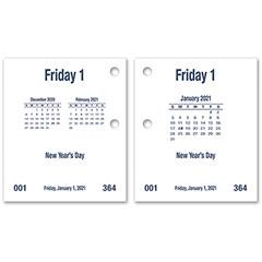 Daymax Calendar Pad Type I - 2021