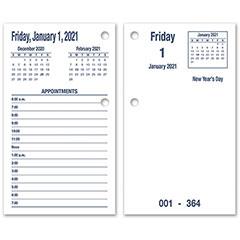 Daymax Calendar Pad Type II - 2021