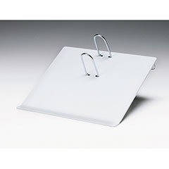 """Calendar Pad Stand - For 3-1/2"""" x 5-1/2"""" Refill - Gray"""