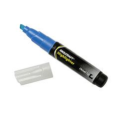 Large Fluorescent Highlighter - Blue Ink