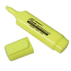 SKILCRAFT® Neon Flat Highlighter - Yellow Ink