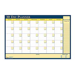 30-Day Non-Dated Erasable Flexible Planner