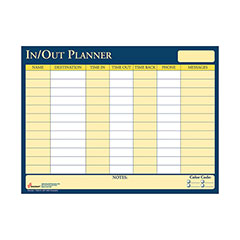 In/Out Erasable Scheduler