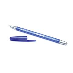 Rubberized/Refillable Ballpoint Pen - Fine Point - Blue Ink