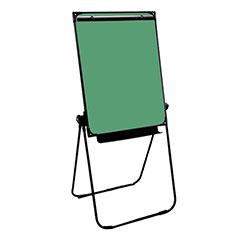 Easel - Chalk Board - Green