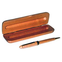 Illusion Wooden Pen - Medium Point - Maple Finish - Black Ink