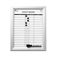 Quartet®/SKILCRAFT® In/Out Board - 14 Person Capacity