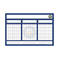 Erasable Custom Wall Calendar - 3 Month Calendar