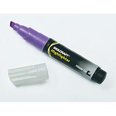 Large Fluorescent Highlighter - Purple Ink