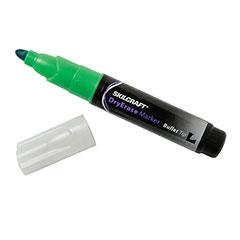 Dry Erase Marker - Bullet Tip - Green Ink