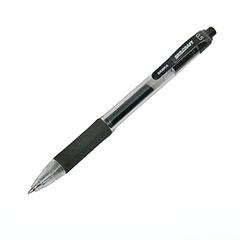 SKILCRAFT®/Zebra® Retractable Gel Pen - Fine Point - Black Ink