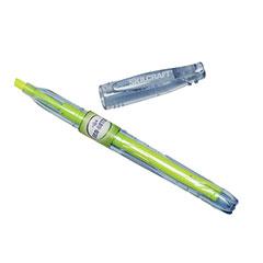 SKILCRAFT® Eco-Bottle Recycled Highlighter