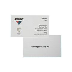 Printed Business Cards - Foil Embossed Logo - 2 Side Printing - Multi-Color Printing