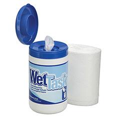 SKILCRAFT® Kimberly-Clark WETTASK™ Wipes - 90 sheets/RO, 6 RO/CT