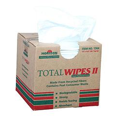 "Total Wipes II Cleaning Towel - 4-PlyMedium-Duty  - 10"" x 16-1/2"""