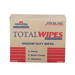 "Total Wipes II Cleaning Towel - 4-Ply Reinforced Medium Duty - 10"" x 16-1/2"""