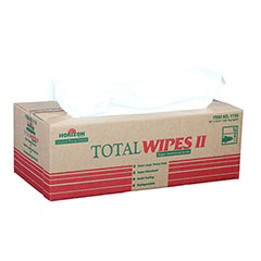 Total Wipes II Cleaning Towel - 2-PlyHeavy Duty