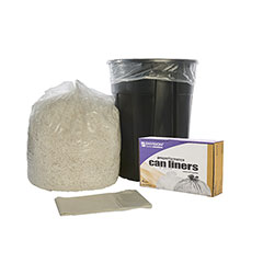 """ProPerformance Can Liners - Linear Low Density - Heavy Duty - 33"""" x 44"""" - Clear"""