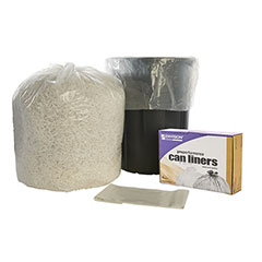 """ProPerformance Can Liners - Linear Low Density - Extra Extra Heavy Duty - 40"""" x 48"""" - Clear"""