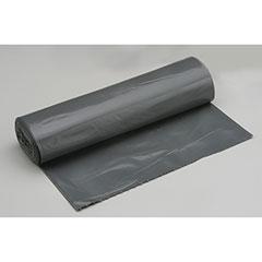 "Coreless Roll Can Liners - Medium Duty - 36"" x 58"" - Gray"