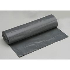 """Coreless Roll Can Liners - Heavy Duty - 36"""" x 58"""" - Gray"""
