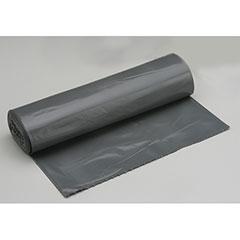 "Coreless Roll Can Liners - Medium Duty - Glutton - 42-1/2"" x 48"" - Gray"