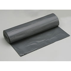 "Coreless Roll Can Liners - Medium Duty - Brute - 36"" x 50"" - Gray"