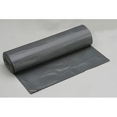 "Coreless Roll Can Liners - Medium Duty - 33"" x 39"" - Gray"