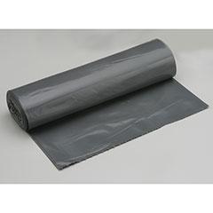 "Coreless Roll Can Liners - Medium Duty - 40"" x 46"" - Gray"