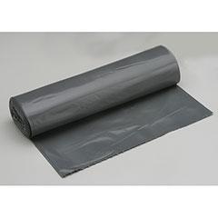 """Coreless Roll Can Liners - Heavy Duty - 40"""" x 46"""" - Gray"""