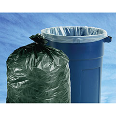 """Insect Repellent Trash Bags - 33"""" x 40"""" - Clear"""