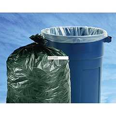 """Insect Repellent Trash Bags - 33"""" x 45"""" - Clear"""