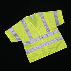 Class 3 ANSI 107-2010 Compliant Safety Vest - Medium
