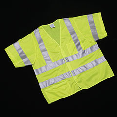 Class 3 ANSI 107-2010 Compliant Safety Vest - Large