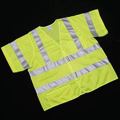 Class 3 ANSI 107-2010 Compliant Safety Vest - X-Large