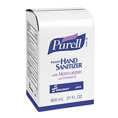 PURELL® SKILCRAFT® Advanced Instant Hand Sanitizer with Biobased Content - 800 mL Refill