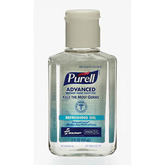 PURELL® SKILCRAFT® Advanced Instant Hand Sanitizer with Biobased Content - 2 oz Bottle