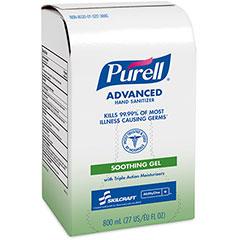PURELL® SKILCRAFT® Advanced Hand Sanitizer Soothing Gel - 800 mL
