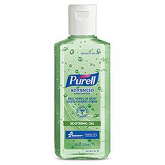 PURELL® SKILCRAFT® Advanced Hand Sanitizer Soothing Gel - 4 oz Flip Cap