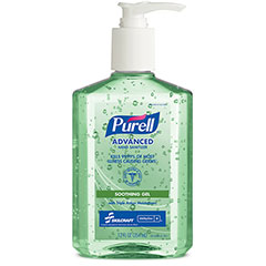 PURELL® SKILCRAFT® Advanced Hand Sanitizer Soothing Gel - 12 oz Pump Bottle