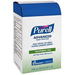 PURELL® SKILCRAFT® Advanced Hand Sanitizer Soothing Gel - 1000 mL