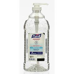 PURELL® SKILCRAFT® Advanced Instant Hand Sanitizer with Biobased Content - 2 Liter Pump Bottle