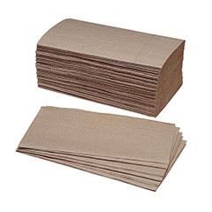 Single-Fold Paper Towel - 40% PCRM, 250 per Bundle, 16/Box